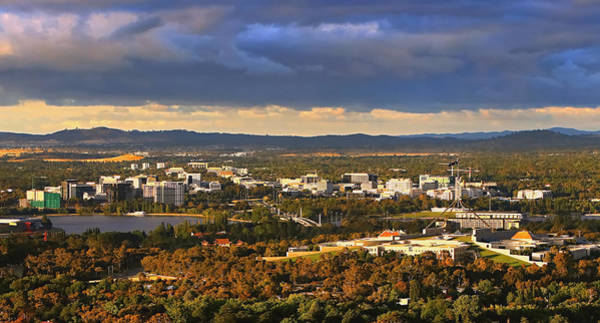 Photograph - Canberra In Autumn by Paul Svensen