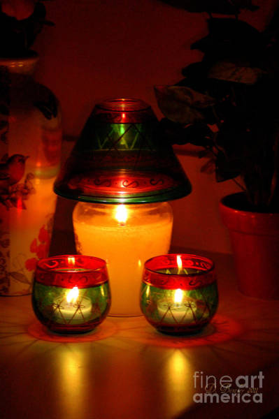 Photograph - Candle Lite by Donna Bentley
