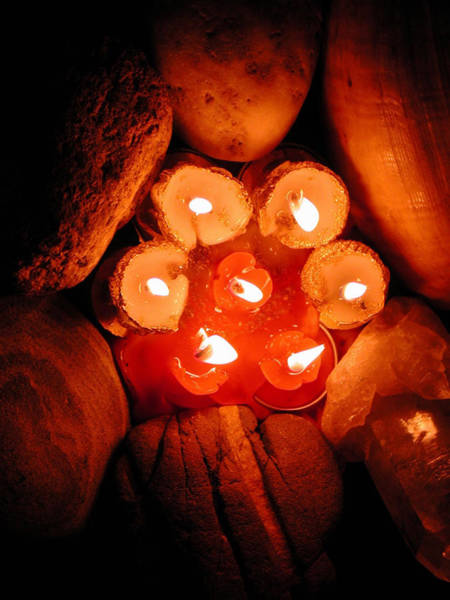 Photograph - Candlelight by Colette V Hera  Guggenheim