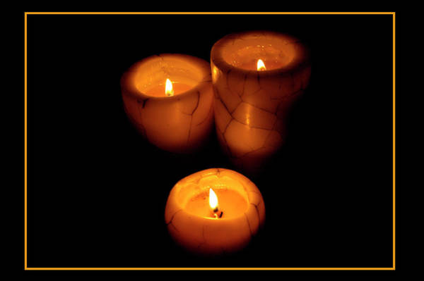 Photograph - Candles In The Night by Carolyn Marshall
