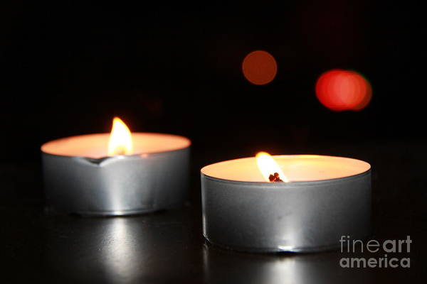 Wall Art - Photograph - Candles  by Lee Dos Santos
