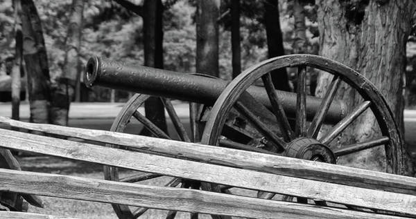 Photograph - Cannon by Guy Whiteley