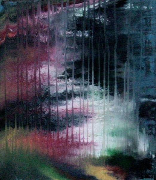 Rain Song Painting - Can't See The Forest For The Rain by Charlotte Nunn
