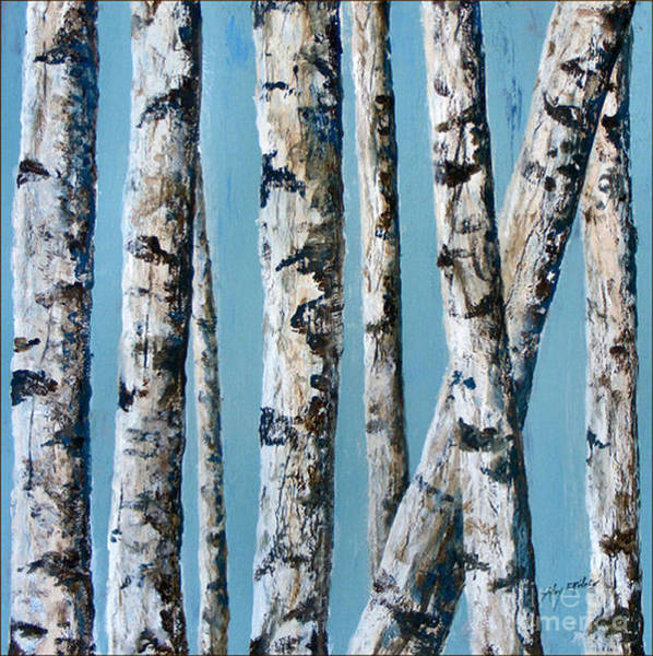 Painting - Can't See The Forest For The Trees by Sandy Brindle