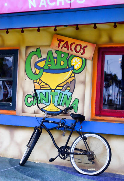 Newport Wall Art - Photograph - Cantina by Carol Leigh