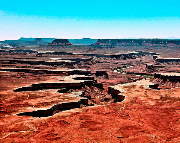Painting - Canyonlands National Park by Bob and Nadine Johnston
