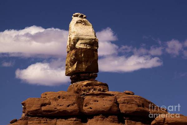 Photograph - Canyonlands Santa Claus by Adam Jewell