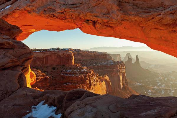 Photograph - Canyonlands Sunrise by D Robert Franz
