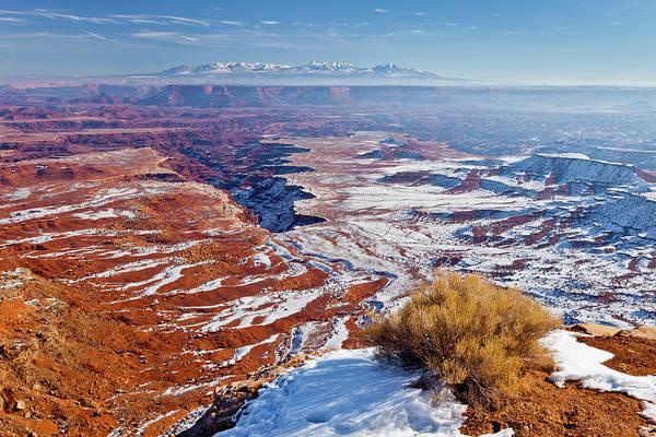 Photograph - Canyonlands Winter by D Robert Franz