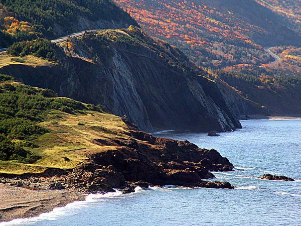 Cabot Trail Photograph - Cap Rouge Autumn by George Cousins