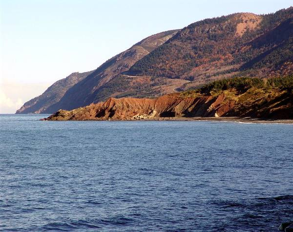 Cabot Trail Photograph - Cap Rouge In Autumn by George Cousins