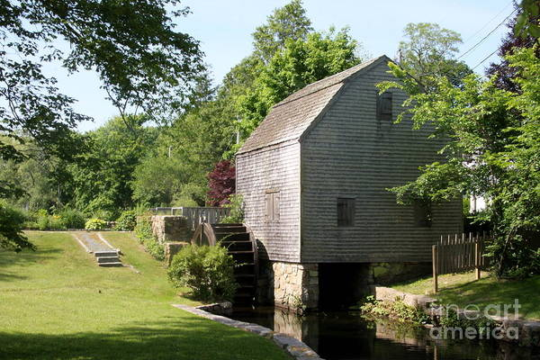 Wall Art - Photograph - Cape Cod Water Mill by Christiane Schulze Art And Photography