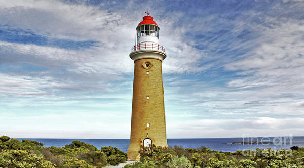 Photograph - Cape Du Couedic Light House by Stephen Mitchell