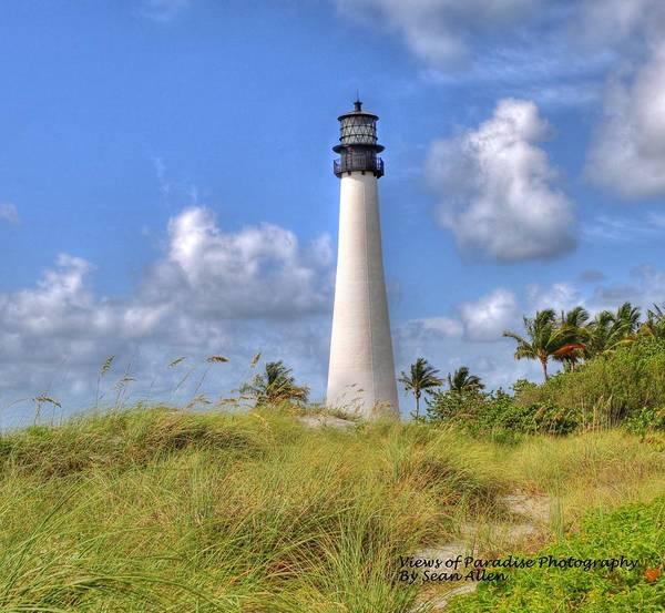 Photograph - Cape Florida Lighthouse by Sean Allen