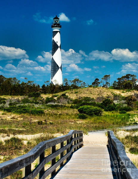 Cape Lookout Light Art Print