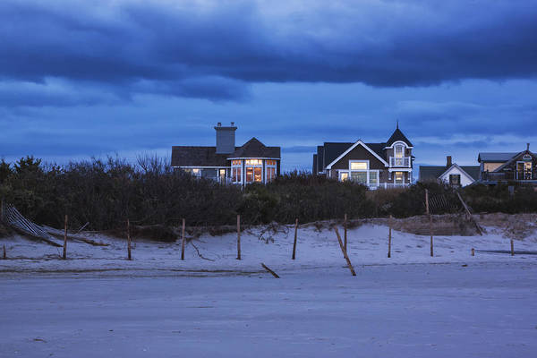 Photograph - Cape May Beach Houses by Tom Singleton
