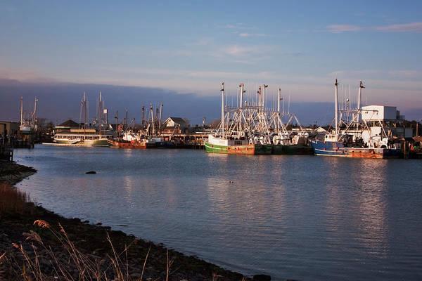 Photograph - Cape May Fishing Boats by Tom Singleton