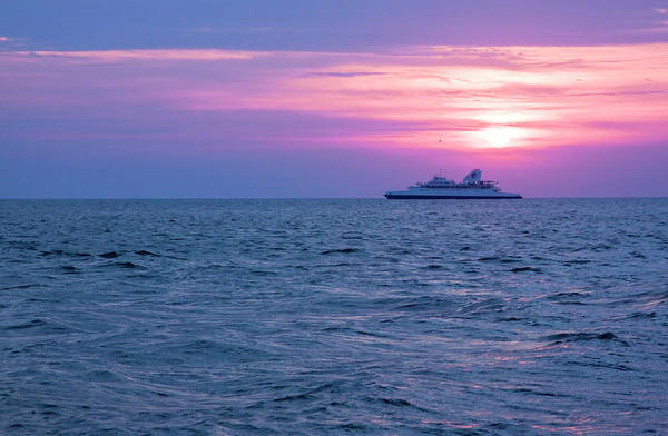 Photograph - Cape May Lewes Ferry by Tom Singleton