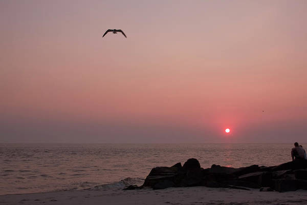 Photograph - Cape May Point Sunset II by Tom Singleton