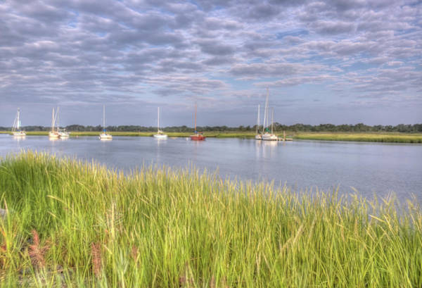 Photograph - Cape May Sailboats by Tom Singleton