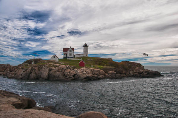 Photograph - Cape Neddick Light Station by Guy Whiteley
