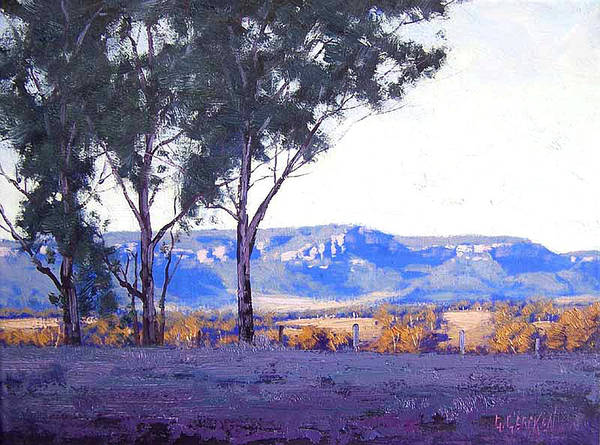 Australian Art Painting - Caperty Valley Australia by Graham Gercken