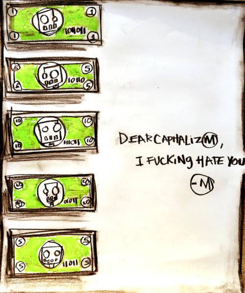 Capitalism Mixed Media - Capitalism  by Aurailieus Artist
