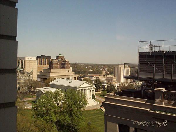 Photograph - Capitol Building Richmond Virginia by Paulette B Wright