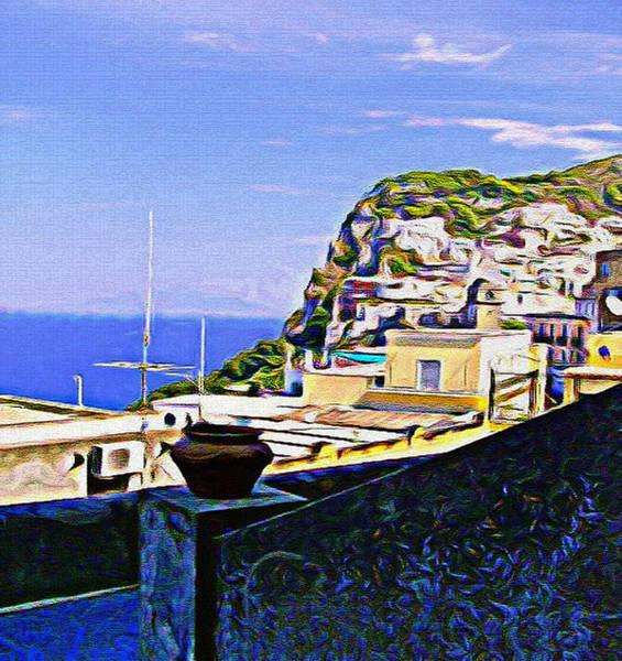 Wall Art - Photograph - Capri Italy by Mindy Newman