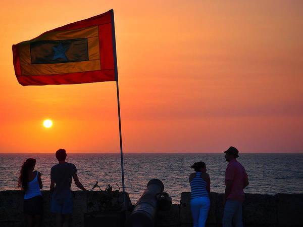 Photograph - Capturar La Bandera by Skip Hunt