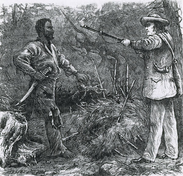 Nathaniel Photograph - Capture Of Nat Turner, American Rebel by Photo Researchers
