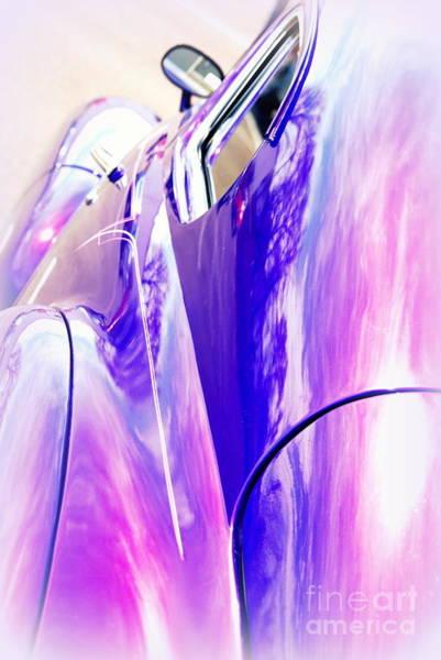 Wall Art - Photograph - Car Reflections by Susanne Van Hulst