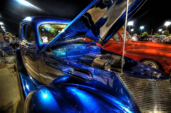 Photograph - Car Show by David Morefield