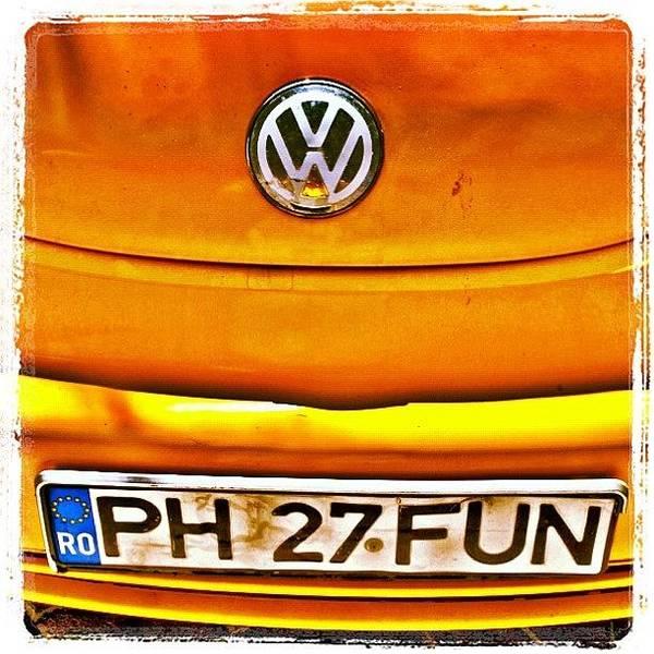 #car #volkswagen #volkswagenbeetle Art Print
