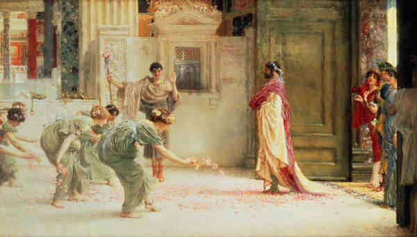 Painting - Caracalla by Sir Lawrence Alma-Tadema