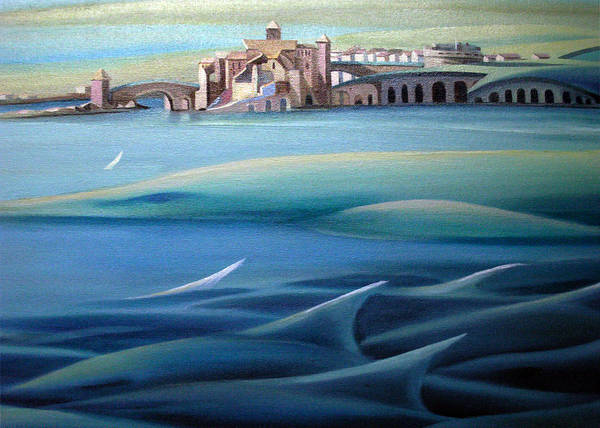 Painting - Card Design Of Tale Of Two Cities by Nancy Griswold