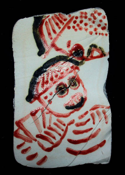 Ceramic Art - Care 7 by Gloria Ssali