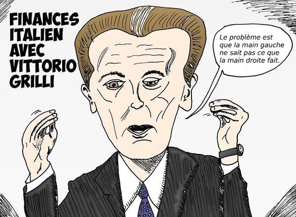 Ant Mixed Media - Caricature De Vittorio Grilli by OptionsClick BlogArt