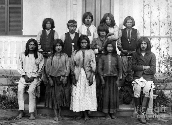 Photograph - Carlisle School Students by Granger