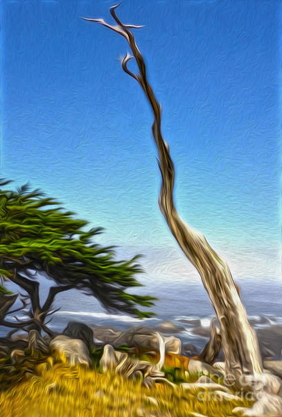 Painting - Carmel California - 02 by Gregory Dyer