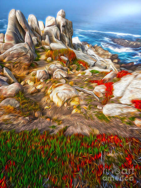 Painting - Carmel California - 06 by Gregory Dyer