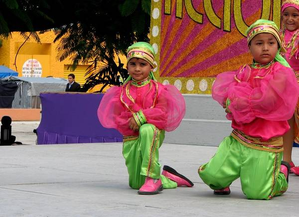 Photograph - Carnaval Children Dancers 1 by Keith Stokes