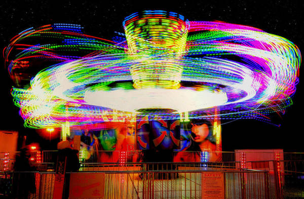 Photograph - Carnival Twirl by Joann Vitali