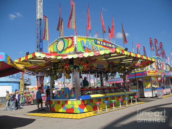 Candy Apples Wall Art - Photograph - Carnivals Fairs And Festival Art  by Kathy Fornal