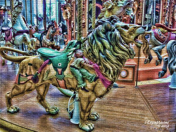 Photograph - Carousel Color by Ericamaxine Price