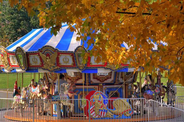 Photograph - Carousel by Joann Vitali