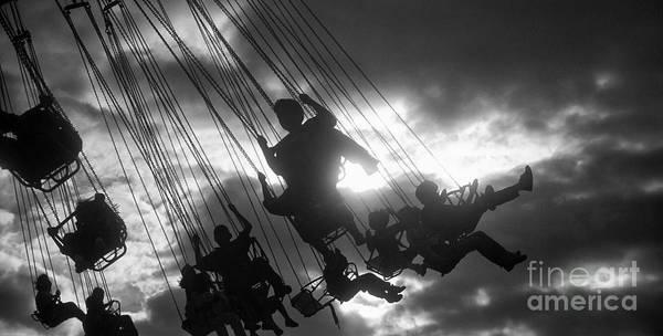 Wall Art - Photograph - Carousel Swing by Keith Kapple