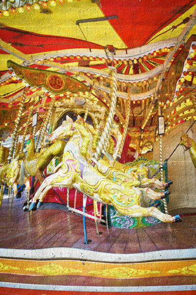 Wall Art - Photograph - Carousel by Tom Gowanlock