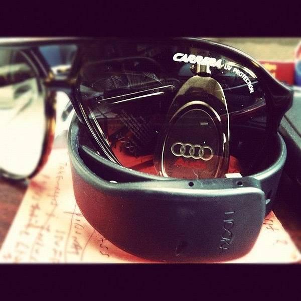 Audi Photograph - #carrera #subglasses #audi #nooka by Zach Magid