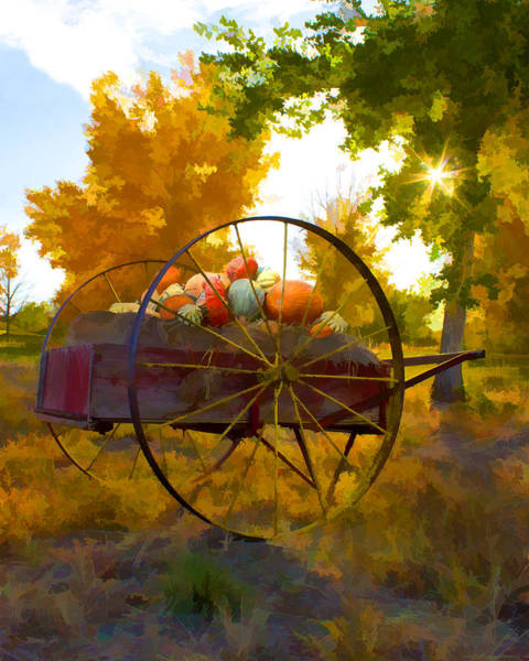 Cart Of Plenty Art Print